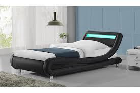 under bed led lighting.  Bed Madrid LED Lights Modern Designer Black Bed Frame  SingleDoubleKing  Size Intended Under Led Lighting
