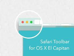 Safari Toolbar For Os X El Capitan Sketch Template By Manuel E