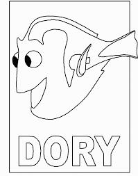 Dory Disegni Da Colorare Alla Ricerca Di Nemo Disegni Da Colorare
