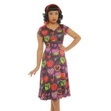 Lindy Bop Size Chart Jasmina Bad Apple Dress By Lindy Bop Cheribomb Retro
