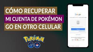 Cómo Recuperar mí Cuenta de Pokémon Go en Otro Celular? - Muy Fácil  (Ejemplo)