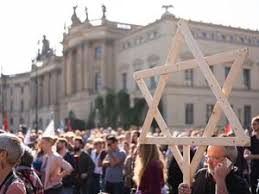 Berlin Daughter Posture Corrector Size Chart Thousands March In Berlin Against Anti Semitism The Forward