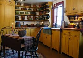 Astounding Primitive Kitchen Decorating Style Ideas with Storage