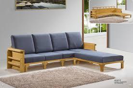 contemporary wood sofa. Furniture Cute Solid Wood Sofa Set Contemporary