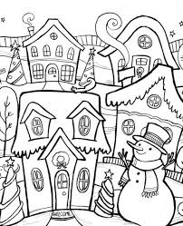 Small Picture Beautiful Winter Coloring Pages Ideas Amazing Printable Coloring