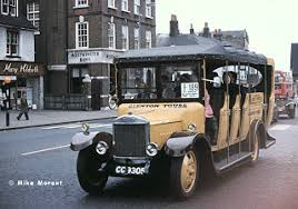 Image result for OPEN SIDE BUS  1900 britain