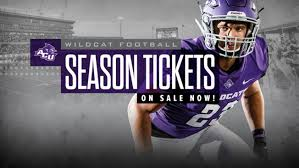 Mcneese Football Seating Chart Football Season Single Game Tickets Now On Sale Acu Today