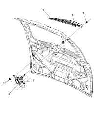 2008 chrysler town country wiper system rear