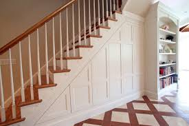 Under-stair Storage traditional-staircase