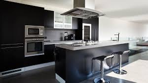 Modern Kitchen Island Stools Picture Of Modern Steinless Black Kitchen Island With Modern Stools