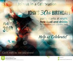celebration flyer template. Funky Abstract Party Invitation Template Birthday Celebration Flyer