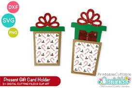 Gift Cards For Christmas Christmas Present Gift Card Holder