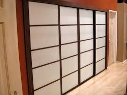 image of update old closet doors to look like shoji screens inside mirror sliding