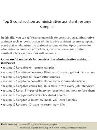 Admin Assistant Resume Sample Lezincdc Com