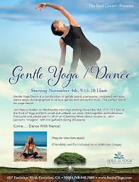 gentle yoga dance
