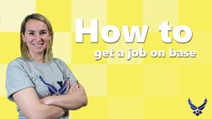 How To Find An On Base Job As A Military Spouse Youtube