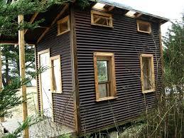 the tin siding on houses galvanized homes corrugated tiny house