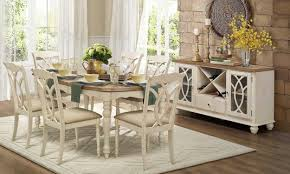 Antique White Dining Room Custom Inspiration