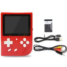 Retro Tv Online Mini Tv Retro Arcade Game Console With 600 Classical Games Red