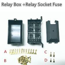5 road relay socket fuse relay box relay holder 6 car automotive automotive fuse panels and relay blocks image is loading 5 road relay socket fuse relay box relay