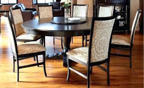 round table design ideas dining room round kitchen table set for 6 black wood dining table