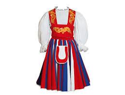 Finnish Dance Chart Traditional Finnish Dress Finnish Women Clothing National