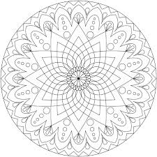 Small Picture Mandala Coloring Pages Advanced Level Phone Coloring Mandala