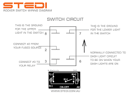 led light wire diagram 3 stedi blog how to wire led rocker switch 5 pin rocker switch diagram