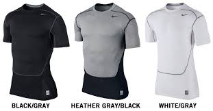Nike Compression Shirt Size Chart Nike Pro Hypercool Senior Compression Short Sleeve Shirt