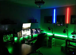 game room lighting. Green And Blue Led Light Game Room Lighting E