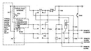 TM 9 6115 604 34_460_1 figure 10 1 annunciator alarm system, simplified schematic diagram on annunciator panel wiring diagram