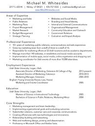 Resume Mike Whitesides