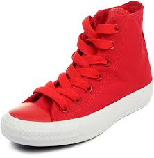 converse men s mono pack chuck taylor all star hi sneaker 9 red shoes trainers converse high tops leather converse boots outfit official