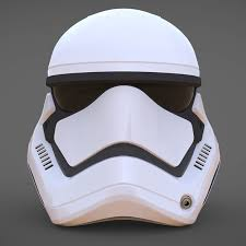 stormtrooper helmet star wars 7 the force awakens by bobiz88 3docean
