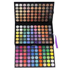 180 color professional makeup palette set 2 shimmer matte warm eyeshadow kits brand cosmetic whole