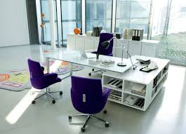 large glass office desk. Full Size Of Attractive White High Gloss Office Table Book Shelf Blue Fabric Chairs With Large Glass Desk T