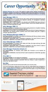 Weekly Selected Jobs 2017 - Www.chomebd.com - Career Home Bd