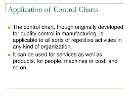 Application Of Control Chart In Manufacturing Ppt Control Chart Continued Powerpoint Presentation