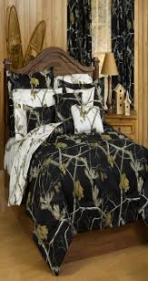 realtree camo bedding collection in black