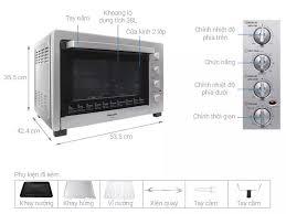 Lò nướng Panasonic NB-H3800SRA 38 lít