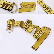 <b>Unisex</b> Double D-Ring Buckles <b>Belt</b> Embroidery <b>Canvas Belt</b>