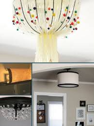Round Up: 6 Ways to Cover Ugly Ceiling Light Fixtures