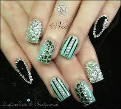 cheetah nails designs with rhinestones | rajawali.racing
