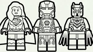 Download Iron Man Lego Da Colorare Disegni Da Colorare