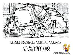 Small Picture Garbage Truck Coloring Sheet Coloring Pages For Kids And For