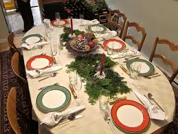 Decorating Ideas For Christmas Dinner Party