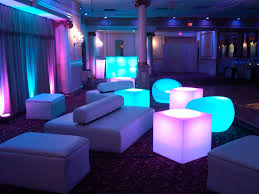 lounge seating for a bat mitzvah