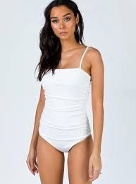 Barnett Bodysuit White