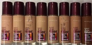 19 Maybelline Age Rewind Foundation Color Chart Maybelline