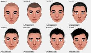 Different Haircut Numbers Hair Clipper Sizes 2019